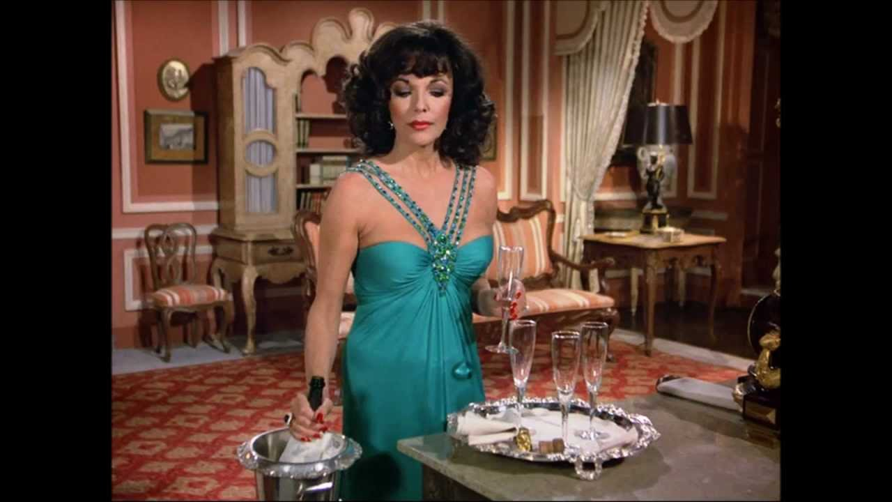 Joan Collins What Did She Wear On Dynasty Season 2 Youtube