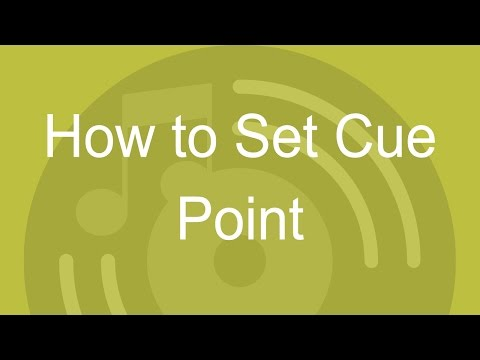 How to Set Cue Point in DJ Music Mixer