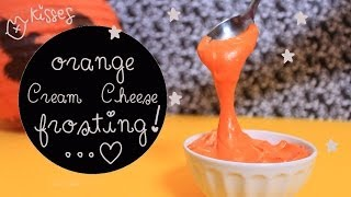 How To Make Orange Cream Cheese Frosting