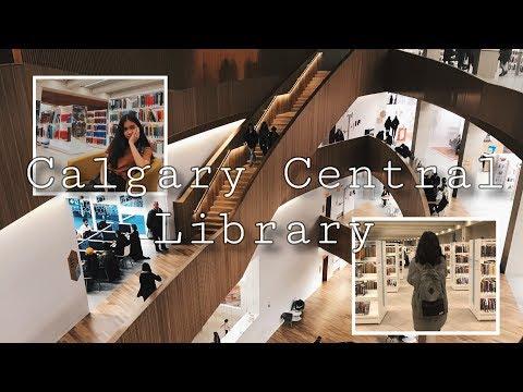 Calgary Central Library - SHORT FILM