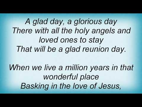 Iris Dement - That Glad Reunion Day Lyrics