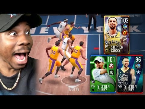 3 STEPH CURRYS IN 1 LINEUP! NBA Live Mobile 19 Season 3 Ep. 82