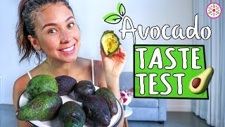 AVOCADO TASTE TEST!