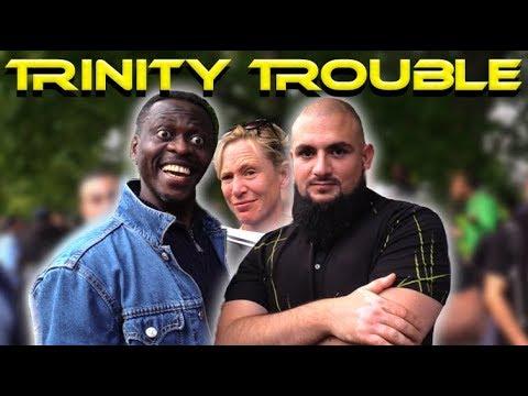 Speakers Corner !! Muhammad Tawheed vs Mike / Lizzie (Trinity Trouble)