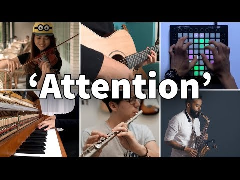 Who Played It Better: Attention (Violin, Guitar, Saxophone, Piano, Launchpad, Flute)