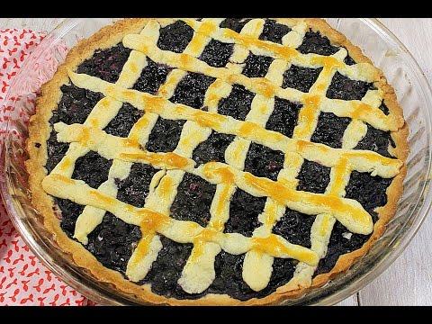Черничный пирог рецепт