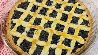 Пирог с ягодами рецепт: пирог с черникой