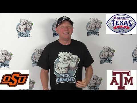 Texas A&M vs Oklahoma State 12/27/19 Free College Football Pick and Prediction: Texas Bowl