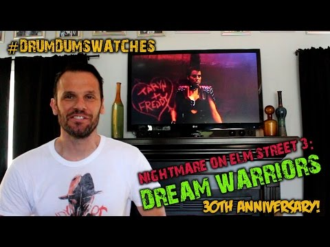 #DrumdumsWatches NIGHTMARE ON ELM STREET 3: DREAM WARRIORS (30th Anniversary)
