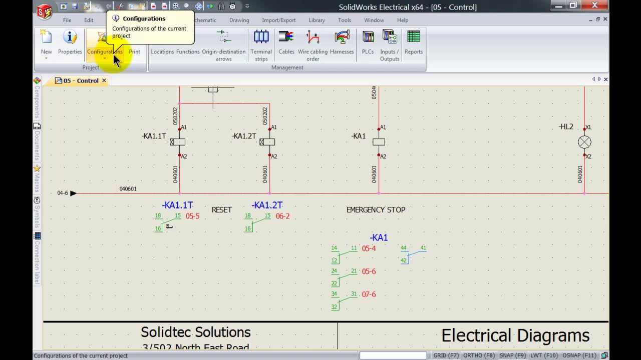 28 SolidWorks Electrical How to Customise the CrossReference