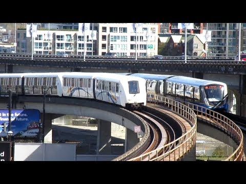 Vancouver Skytrain and Canada Line In Action III - Aug. / Sep. 2016