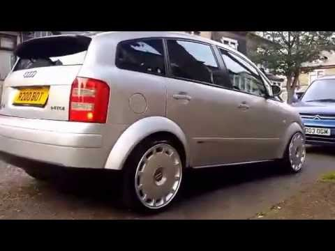 audi a2 tdi air ride youtube. Black Bedroom Furniture Sets. Home Design Ideas