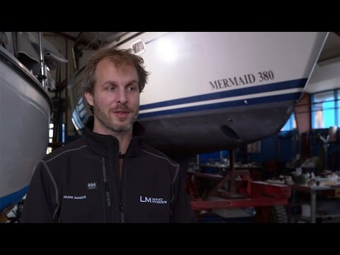 A piece of LM Wind Power's heritage comes home