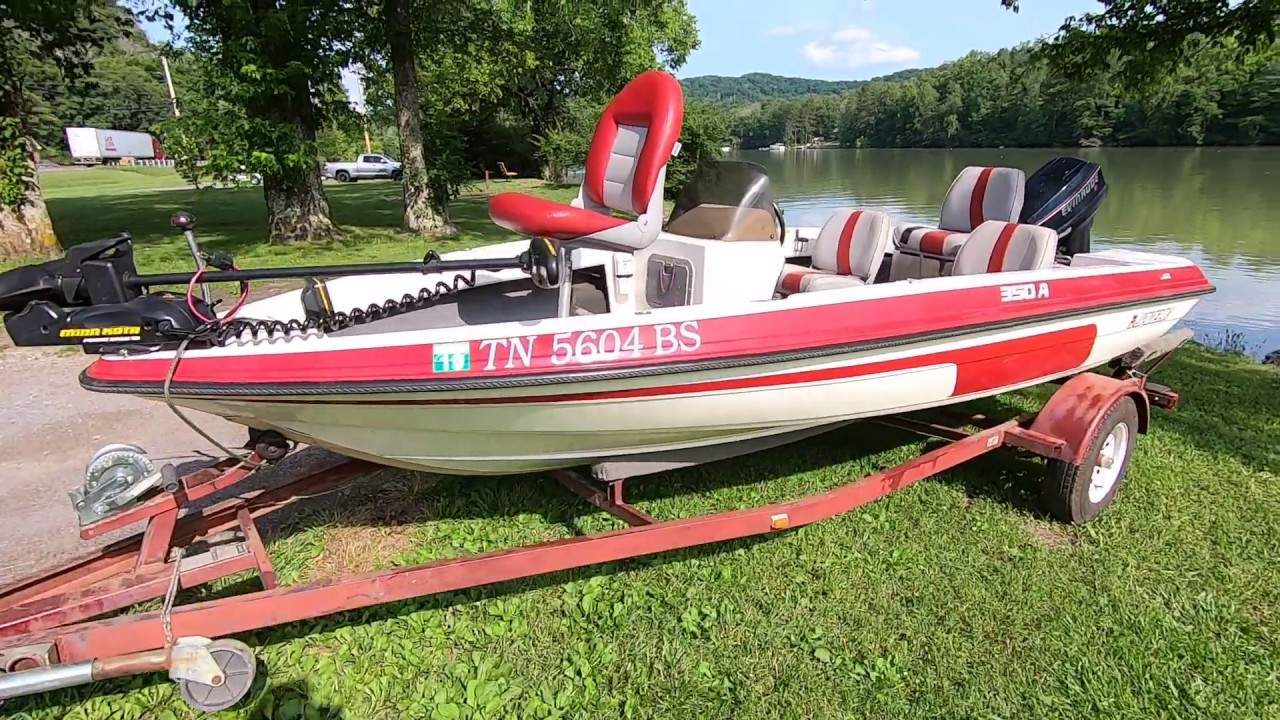 1993 Javelin 350A Bass Fishing Boat For Sale near Knoxville TN