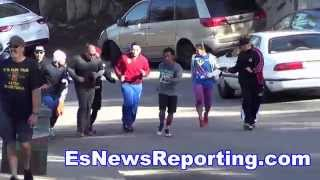 Manny Pacquiao Leaving Nothing Behind Working Hard For Floyd Mayweather Fight - EsNews