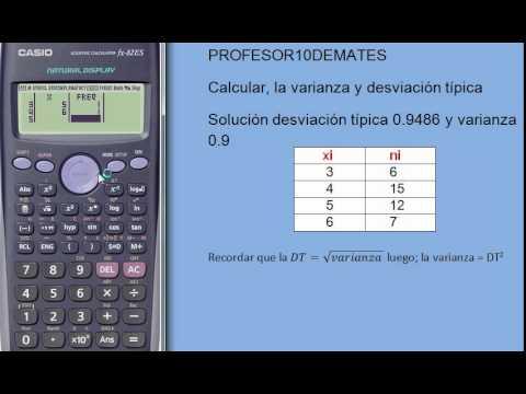 Como sacar promedio en calculadora científica