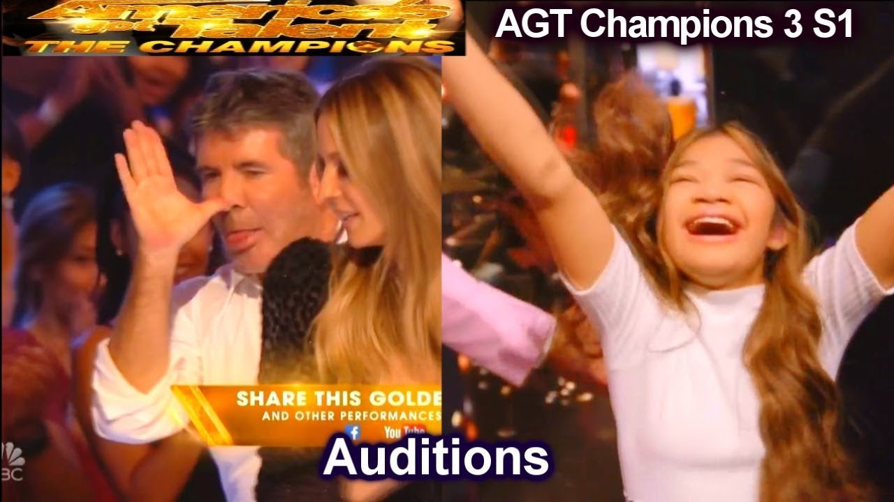 Angelica Hale Intro Story & After Golden Buzzer  Audition | America's Got Talent The Champi