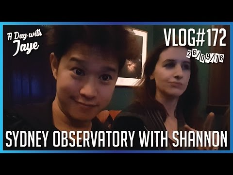 #172 - Sydney Observatory with Shannon