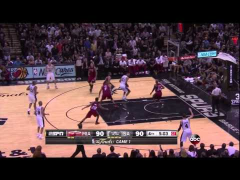 LeBron James Cramps Up As Spurs Can Take The Heat
