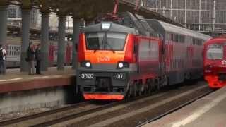 Презентация первого двухэтажного поезда(ОАО