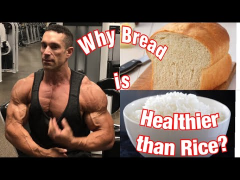 Why Bread is Healthier than Rice (Rating Carb sources) Popcorn, Rice, Oatmeal, Bread
