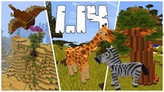Aktualizacja Sawanny w Minecraft 1.14?! Jak Może Wyglądać?