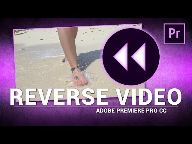 Adobe Premiere Pro / How to Reverse Video Footage (Tutorial)