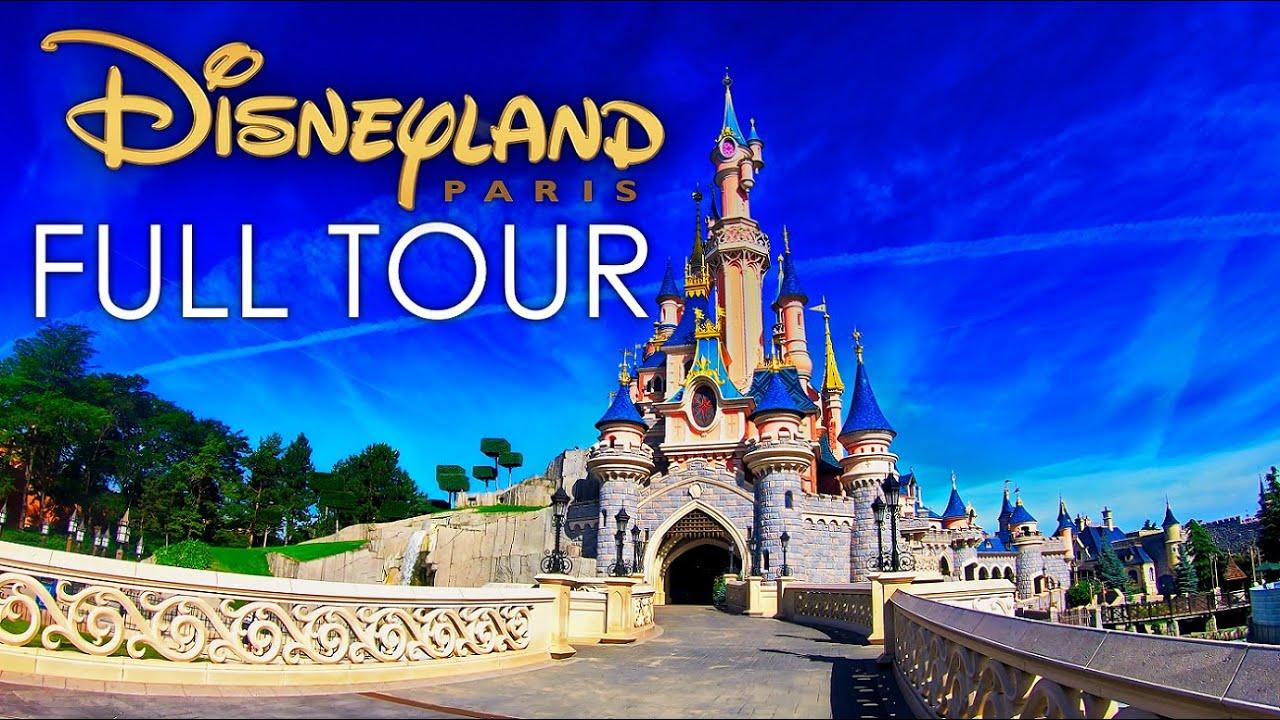 [4K] Disneyland Paris - Complete Walkthrough - Summer 2020