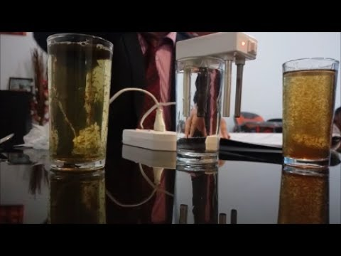 Aqua pure water filter demonstration you should watch this