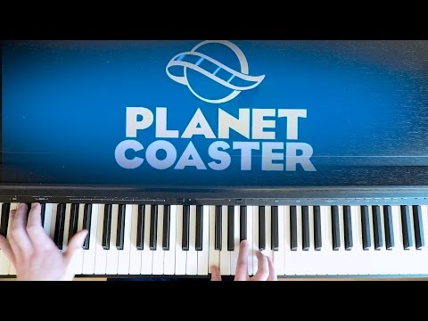 The Light in Us All (Piano Version) - Jim Guthrie & JJ Ipsen | Planet Coaster Main Theme