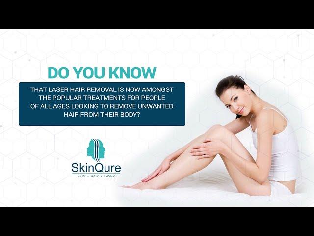 Facts About Laser Hair Removal | Laser Therapy | SkinQure Laser | Saket | Delhi