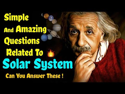 10 Simple And Amazing Questions Related to Solar System Can You Answer These ! 🔥🔥🔥