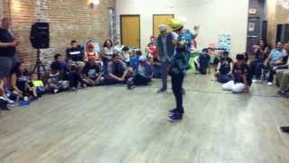 Jump Off-  Dance Battle- Spunjbob VS Cloudface (Move If You Wanna)