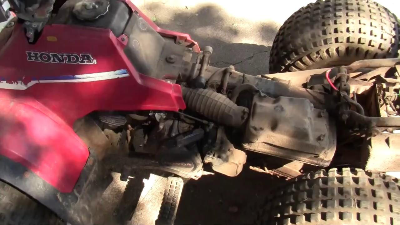 honda trx 125 repair (part 1)