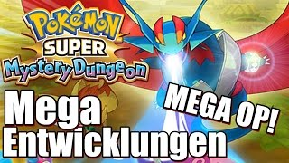 MEGA ENTWICKLUNG IN PMD! POKÉMON SUPER MYSTERY DUNGEON Mega Entwicklung