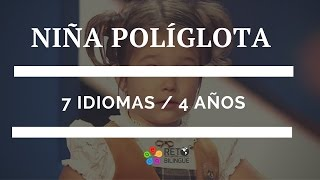 032: Niña políglota rusa ¿Metodologia como aprendió?.