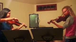 Roundtable Rival - Lindsey Stirling (Violin Duet by Kimberly McDonough & Katherine Stennett)