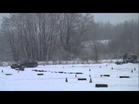 mercedes s 430 w220 milovice 19 12 2010 funny snow race youtube