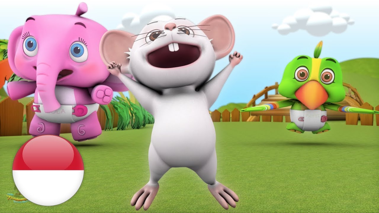 Kalau Kau Suka Hati Kartun Anak Lagu Anak Terpopuler If You
