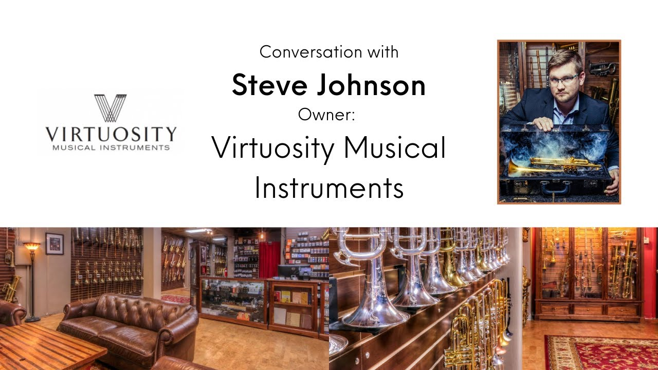 Video: Conversation with Steve Johnson, Virtuosity Music