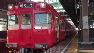 [検査明け‼️ピカピカ編成‼️]名鉄100系 116f(赤池行き)上小田井駅  発車‼️