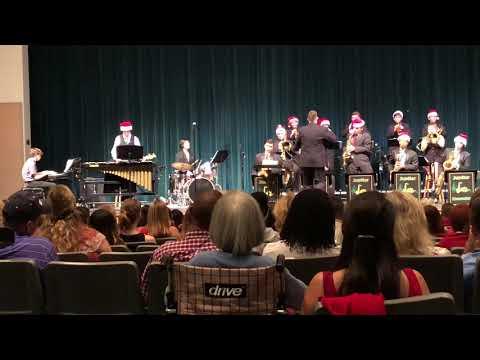 "Jupiter High School Jazz Ensemble - ""Comfort and Joy"" (Holiday Concert 2018)"