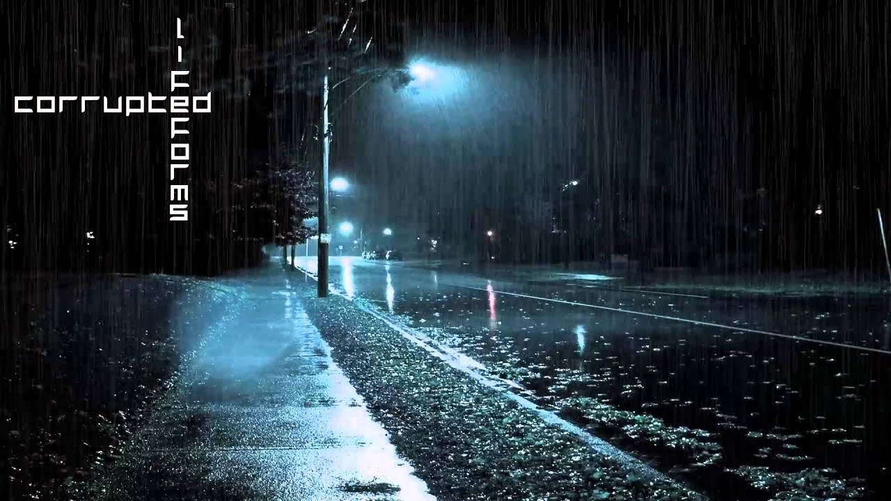 sad rainy night - HD 1920×1080
