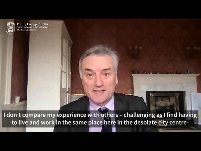 Message to colleagues from Provost Patrick Prendergast