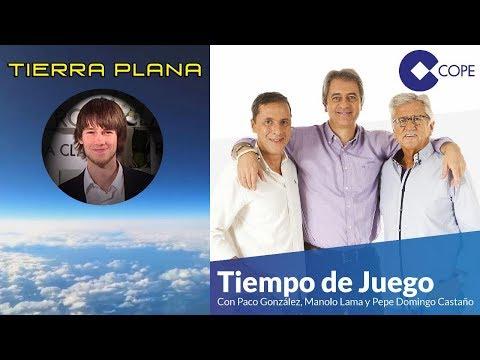 Entrevista a Oliver Ibáñez sobre la Tierra Plana en la Cadena COPE