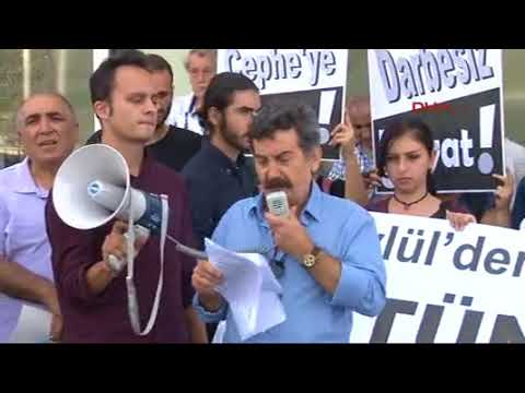 Kadıköyde darbe protestosu