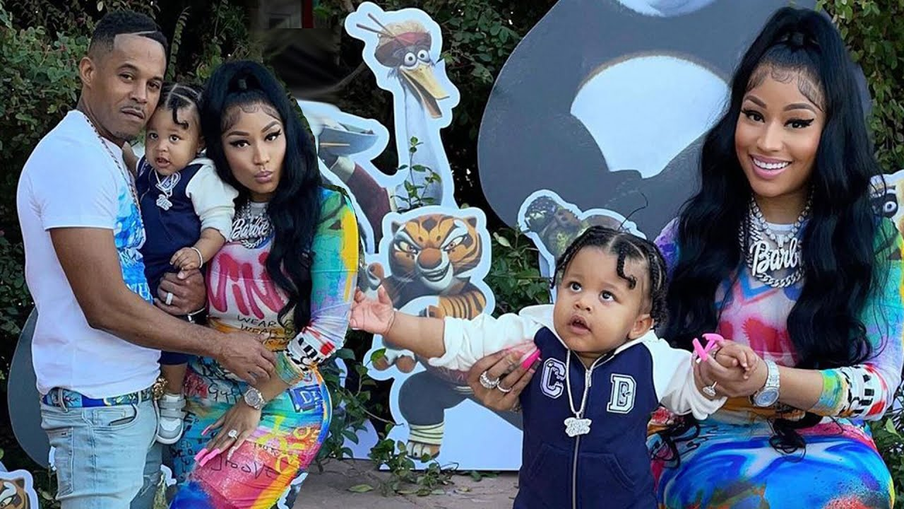 Nicki Minaj Goes FULL OUT for Son's First Birthday Party