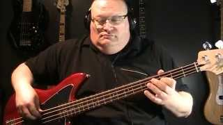 Tom Petty and The Heartbreakers The Last Dj Bass Cover with Notes & Tablature