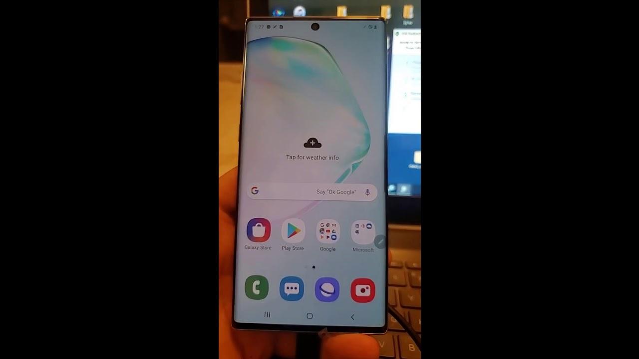 Repair imei Samsung Galaxy Note 10 Plus DEMO N975X