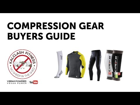 Sports compression clothing buyers guide - compression gear sizing skins 2xu underarmour